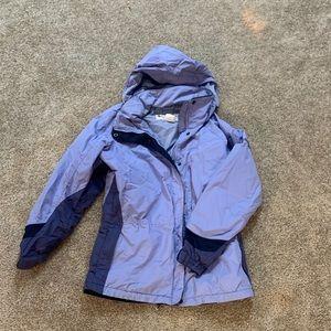 Heavier duty Columbia rain jacket